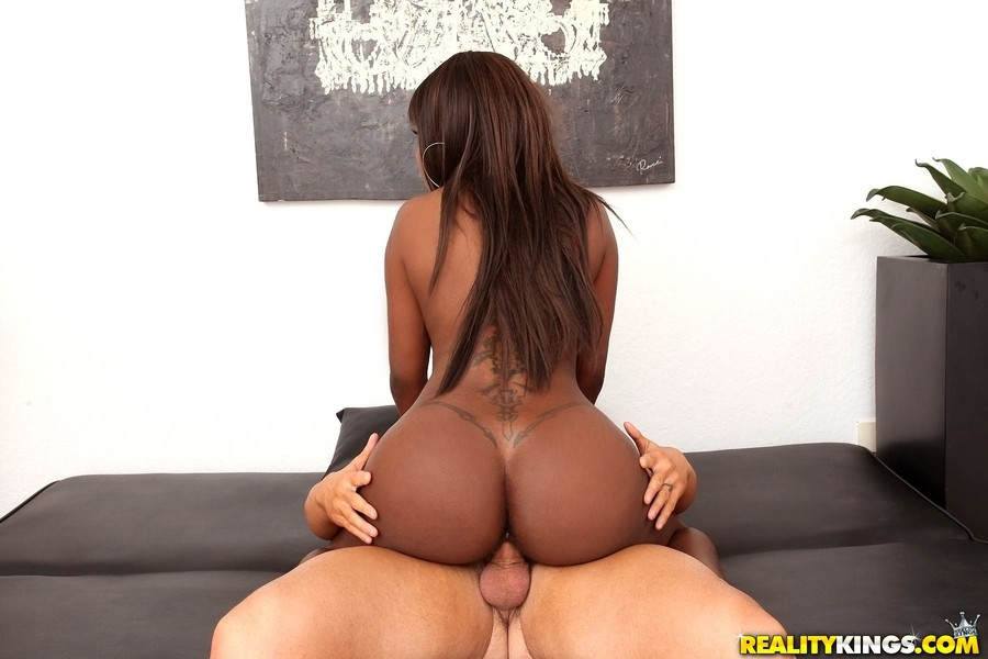 Ebony Big Ass Clapping Dick